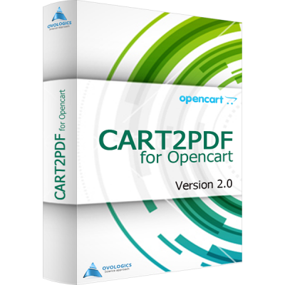 Cart2PDF for OpenCart for version 2.0
