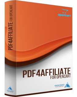 Pdf4Affiliate for Opencart