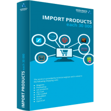 Import products - each 30 000