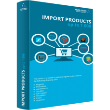 Import products - up to 1 000